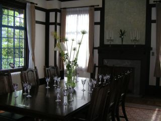 久遠寺邸食堂
