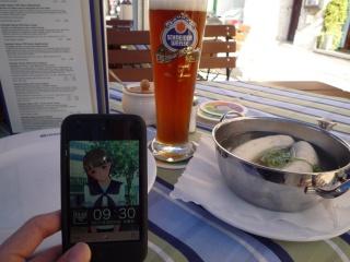 ネネさんとドイツビール